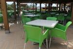Стол от пластмаса зелен, с ниска цена