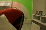 Модел красива детска стая с легло на 2 етажа